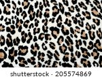 brown and black leopard pattern....   Shutterstock . vector #205574869