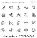 coronavirus protection.... | Shutterstock .eps vector #2055806060