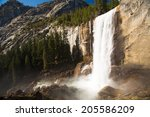 Vernal Fall In Yosemite...