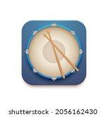 musical drum kit app vector 3d...