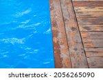 Blue  Clear Water In An Open...