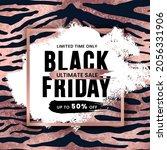 black friday sale banner design ... | Shutterstock .eps vector #2056331906