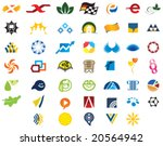 a set of icon logos | Shutterstock .eps vector #20564942