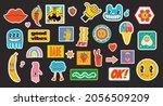 hand drawn vector illustrations ... | Shutterstock .eps vector #2056509209