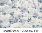 cloudy texture illustration.... | Shutterstock . vector #2056557149