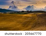 typical tuscany landscape  italy | Shutterstock . vector #205667770