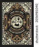 western card with vintage style   Shutterstock .eps vector #2056981040