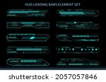 hud futuristic element loading...