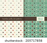 abstract colorful polka dot...