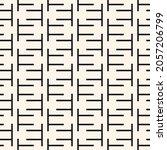 black and white seamless...   Shutterstock .eps vector #2057206799