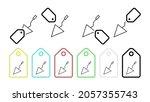 spatula vector icon in tag set...