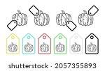 pumpkin  plant  food vector...   Shutterstock .eps vector #2057355893