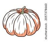 fairytale squash image. autumn...   Shutterstock .eps vector #2057378660