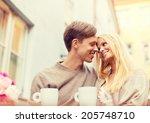 summer holidays  love  travel ... | Shutterstock . vector #205748710
