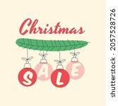 winter sale banner. winter... | Shutterstock .eps vector #2057528726
