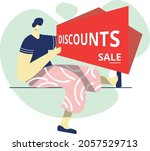 sale concept  perfect for... | Shutterstock .eps vector #2057529713