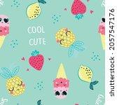 happy summer vector... | Shutterstock .eps vector #2057547176