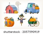 collection of images from...   Shutterstock .eps vector #2057590919