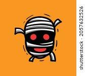 vector object about a mummy... | Shutterstock .eps vector #2057632526