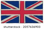 vector grunge flag of united... | Shutterstock .eps vector #2057636903