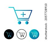 abstract add to cart icon...