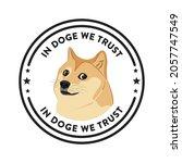 cute dog vector illustration... | Shutterstock .eps vector #2057747549