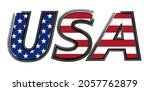 usa text in grunge style.usa... | Shutterstock .eps vector #2057762879