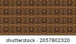 ikat geometric folklore... | Shutterstock .eps vector #2057802320