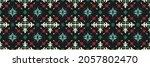 ikat geometric folklore... | Shutterstock .eps vector #2057802470