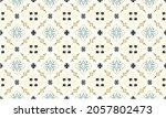 ikat geometric folklore... | Shutterstock .eps vector #2057802473