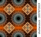 colorful seamless pattern.... | Shutterstock .eps vector #2057872019