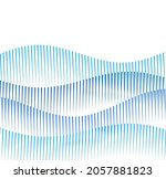design elements. wave of many... | Shutterstock .eps vector #2057881823