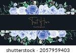 elegant floral frame background ... | Shutterstock .eps vector #2057959403