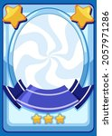 empty game card template... | Shutterstock .eps vector #2057971286