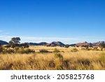 African Savanna Landscape ...