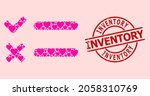 distress inventory stamp seal ...