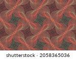 organic lines geometric shapes...   Shutterstock .eps vector #2058365036