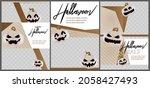 modern halloween design for... | Shutterstock .eps vector #2058427493