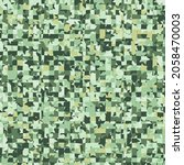 seamless camouflage pattern... | Shutterstock .eps vector #2058470003