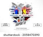 t20 cricket super 12 match... | Shutterstock .eps vector #2058470390