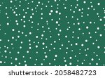 abstract hand drown polka dots... | Shutterstock .eps vector #2058482723