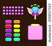 cartoon colorful bright  game...