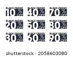 vector black friday sale... | Shutterstock .eps vector #2058603080