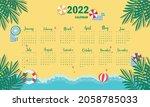 Calendar Template For 2022 ...