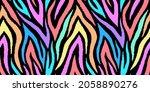 Colorful Animal Seamless...
