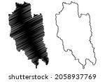 lunglei district  mizoram state ... | Shutterstock .eps vector #2058937769