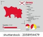jersey infographic vector... | Shutterstock .eps vector #2058954479