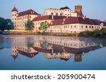 jindrichuv hradec castle in... | Shutterstock . vector #205900474