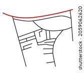 road network image map design... | Shutterstock .eps vector #2059062620