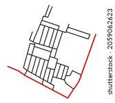 road network image map design... | Shutterstock .eps vector #2059062623